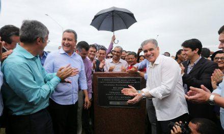 Feira: acesso à BR-324 fica mais fácil com inauguração de viaduto