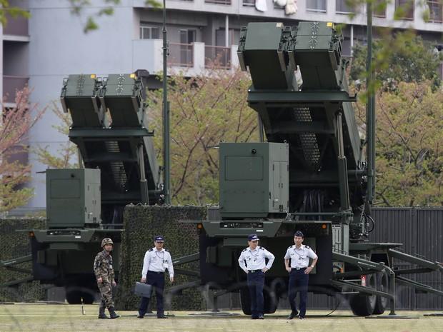 Em resposta à Coreia do Norte o Japão instala sistema antimísseis