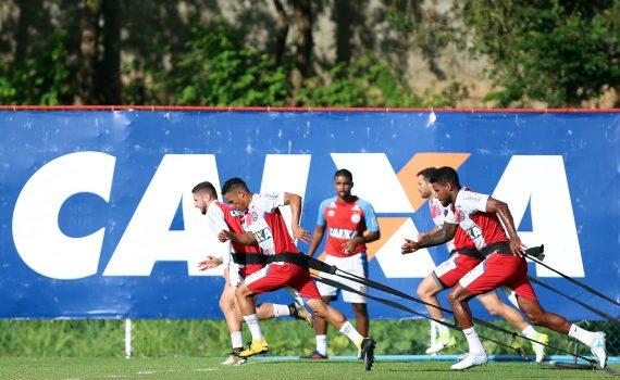 Jogadores do Bahia se reapresentam no Fazendão e iniciam os trabalhos para o jogo com o Coritiba