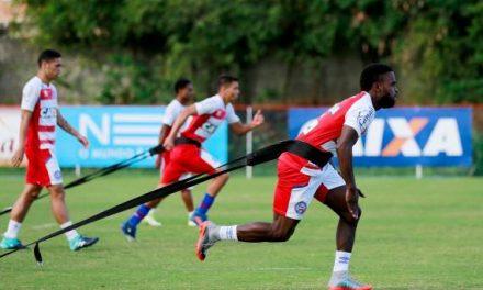 Bahia retoma os treinamentos de olho no jogo contra o Atlético Goianiense