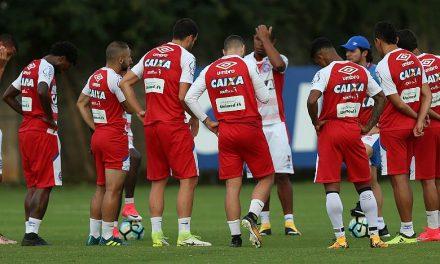 Bahia faz treino na manhã deste sábado na preparação para pegar o Atlético Goianiense