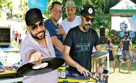 Domingo no Parque da Cidade com Pick Nick e DJs