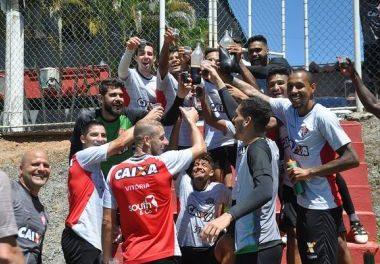 Time do Vitória ganha folga no fim de semana, após treino nesta sexta