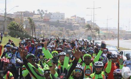 Ciclistas celebram chegada da Primavera em passeio de 25km