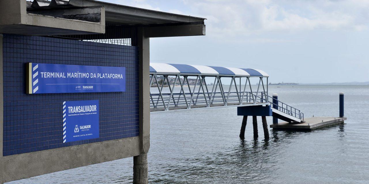 Terminais marítimos da Ribeira e Plataforma suspendem atividades na quinta (07)