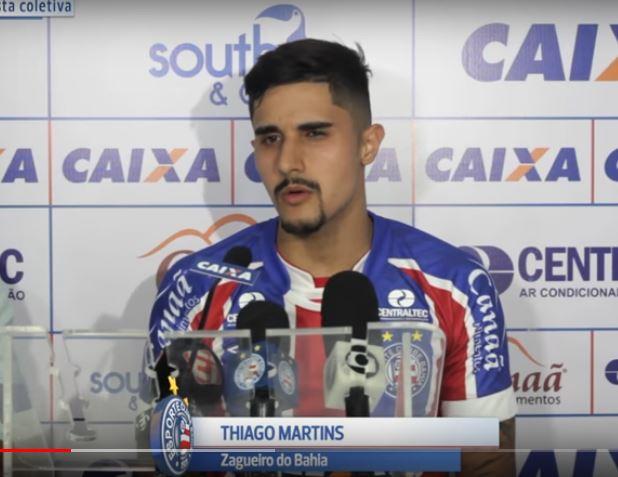 Thiago Martins e Éder podem ser titulares do tricolor no jogo com o Coritiba