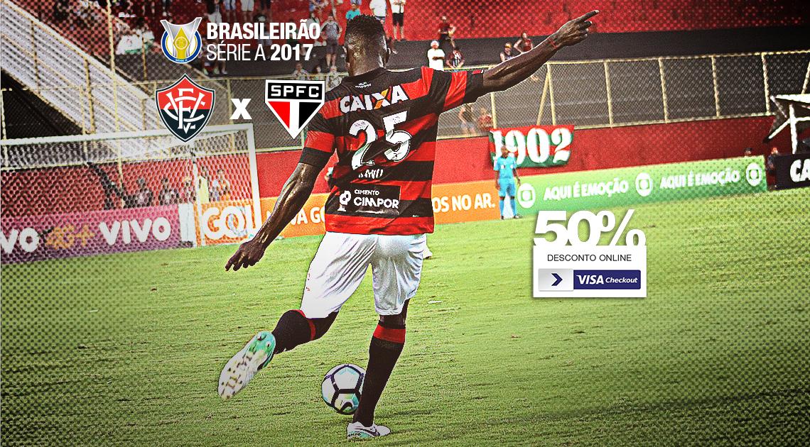 Vitória inicia venda de ingressos para o jogo contra o São Paulo