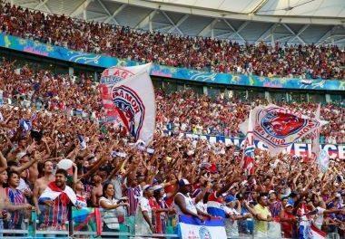 Confiante em casa cheia no jogo contra o Coritiba o Bahia inicia venda de ingressos