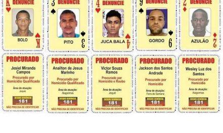 SSP atualiza seu Baralho do Crime na Bahia