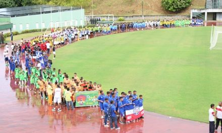 Estádio de Pituaçu recebe abertura da Copa Dente de Leite