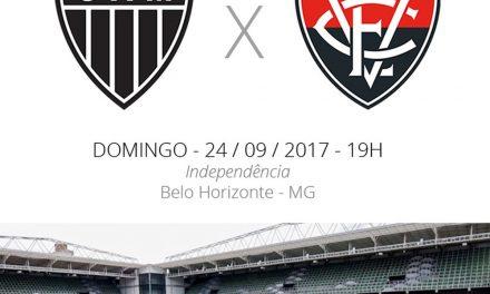 Atlético x Vitória: baianos em campo sabendo os resultados