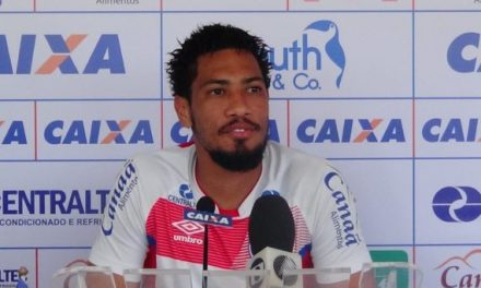 Hernane está recuperado da fratura e quer recuperar titularidade no ataque do Bahia