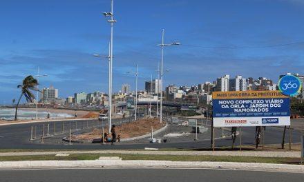 Trânsito será alterado para obras do Jardim dos Namorados