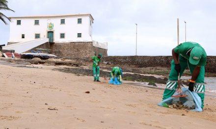 Limpurb recolhe cerca de 50 toneladas de lixo por dia das praias de Salvador