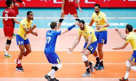 Seleção masculina de vôlei conquista o pentacampeonato da Copa dos Campeões ao vencer o Japão