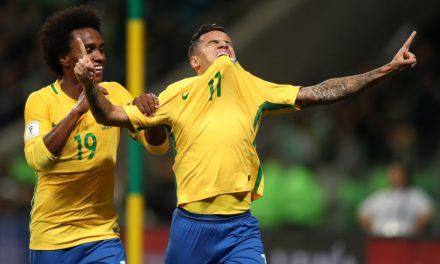 Brasil 2 x 0 Equador, 25 minutos de bom futebol