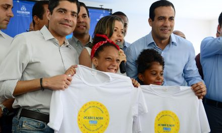 Novo Horizonte ganha escola reconstruída e mais duas obras da Prefeitura