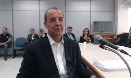 Preso por corrupção Cabral é condenado pela terceira vez, agora a 13 anos de prisão