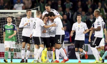 Atual campeã do mundo, Alemanha garante vaga para a Copa do Mundo na Rússia
