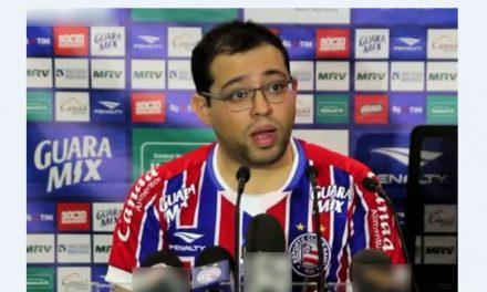 EXCLUSIVO: Eleições no Bahia: Pedro Henriques fala em construir Arena do Bahia; Bellitani é contra