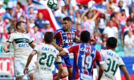 Bahia vai enfrentar o Palmeiras sem ao menos cinco titulares