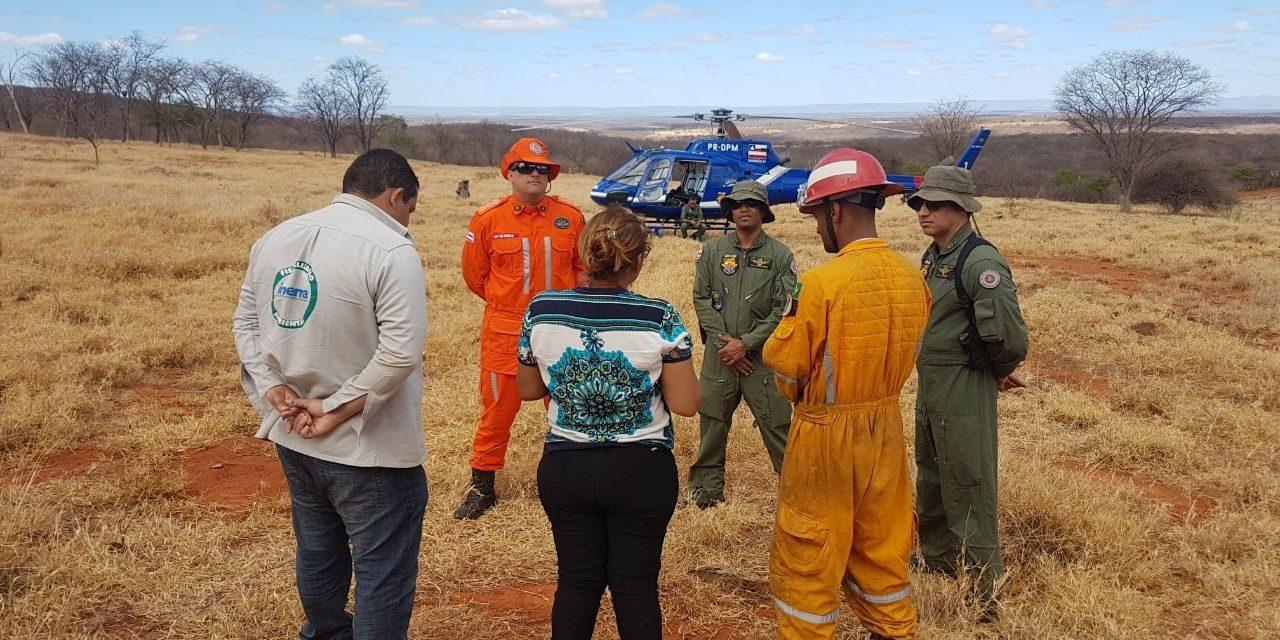 Programa Bahia Sem Fogo tem forte atuação do Corpo de Bombeiros