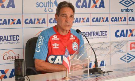 Bahia volta a treinar nesta quarta no CT do São Paulo para pegar o Palmeiras na quinta