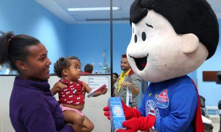 HGRS recebe apoio do Bahia em campanha de doação de sangue