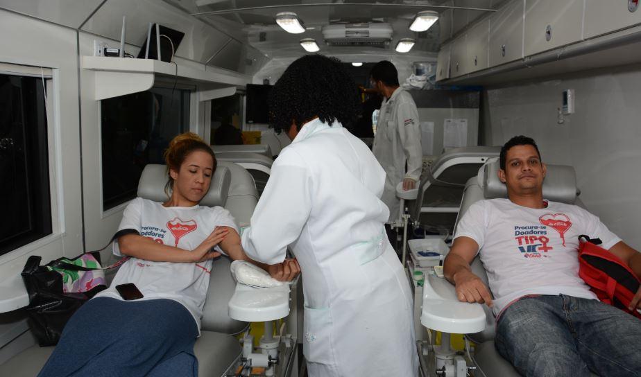 Para repor estoque de sangue Hemoba faz campanha e convoca doadores