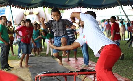 Sábado e domingo tem Festival da Criança no Parque da Cidade