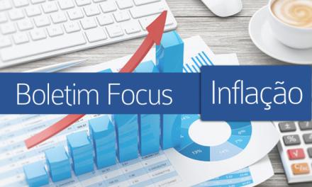 Projeção da inflação para este ano é aumentada pelo mercado para 3,08%
