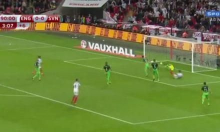 Inglaterra vence Eslovênia aos 49 minutos do 2º tempo e garanta vaga na Copa da Rússia