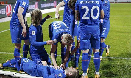 Líder do Grupo I a Islândia garante vaga na Copa da Rússia de 2018