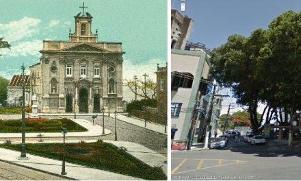 Salvador antiga – Largo da Vitória