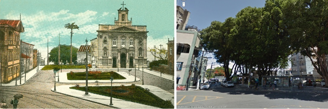 Salvador antiga - Largo da Vitória - Farol News 2733e2b024dd1