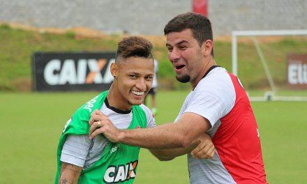 Vitória se reapresenta nesta quarta e inicia treino para o jogo de quinta com o Atlético-PR