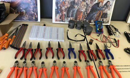 Laboratório de robótica em Canudos é inaugurado pelo governo do Estado, nesta 5ª