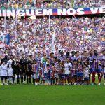 Torcida do Bahia em destaque na temporada