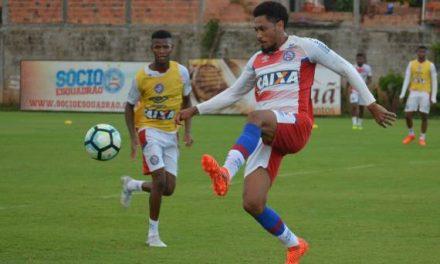 Bahia treina de olho no Flamengo e inicia venda de ingressos para o Ba-Vi