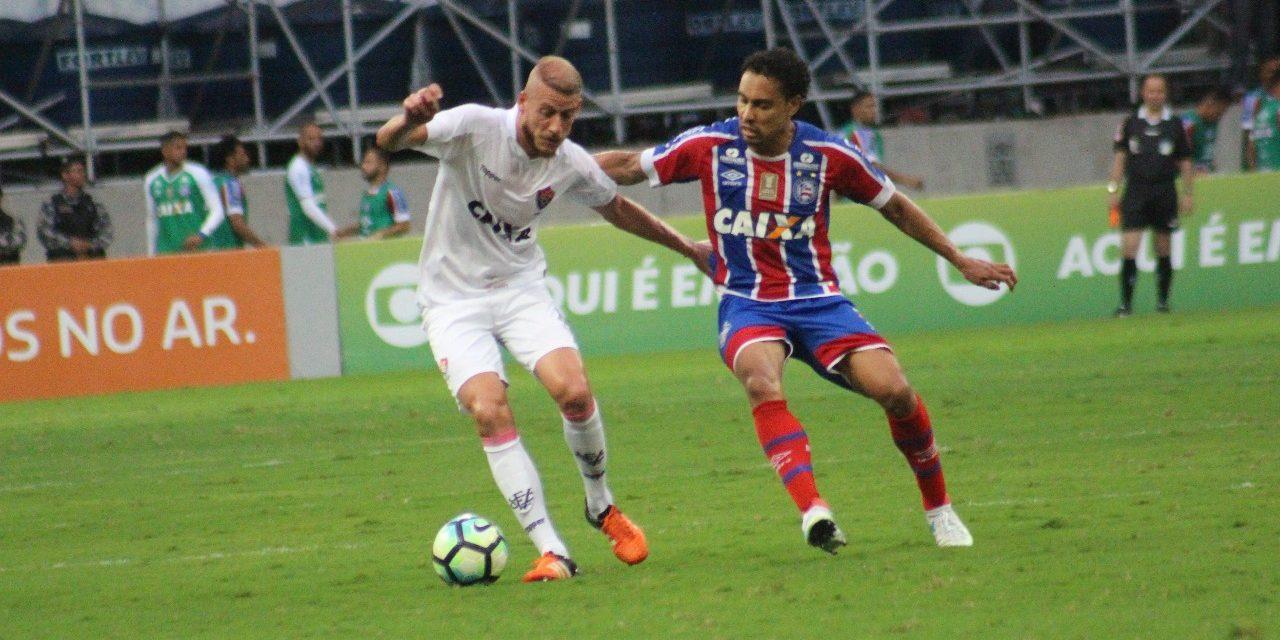 13eacad84a Elenco do Vitória folga nesta segunda e começa amanhã treinos para pegar o  Atlético-GO