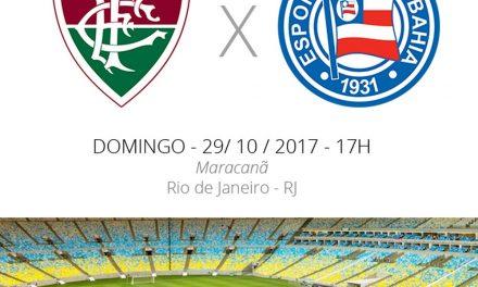 Bahia joga no Maracanã contra o Fluminense: 13º x 14º