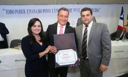 Governador Rui Costa recebe título de cidadão de Jequié