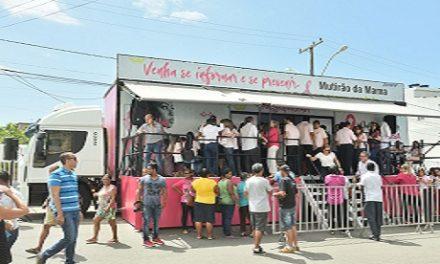 Prefeitura: campanha de prevenção do câncer de mama