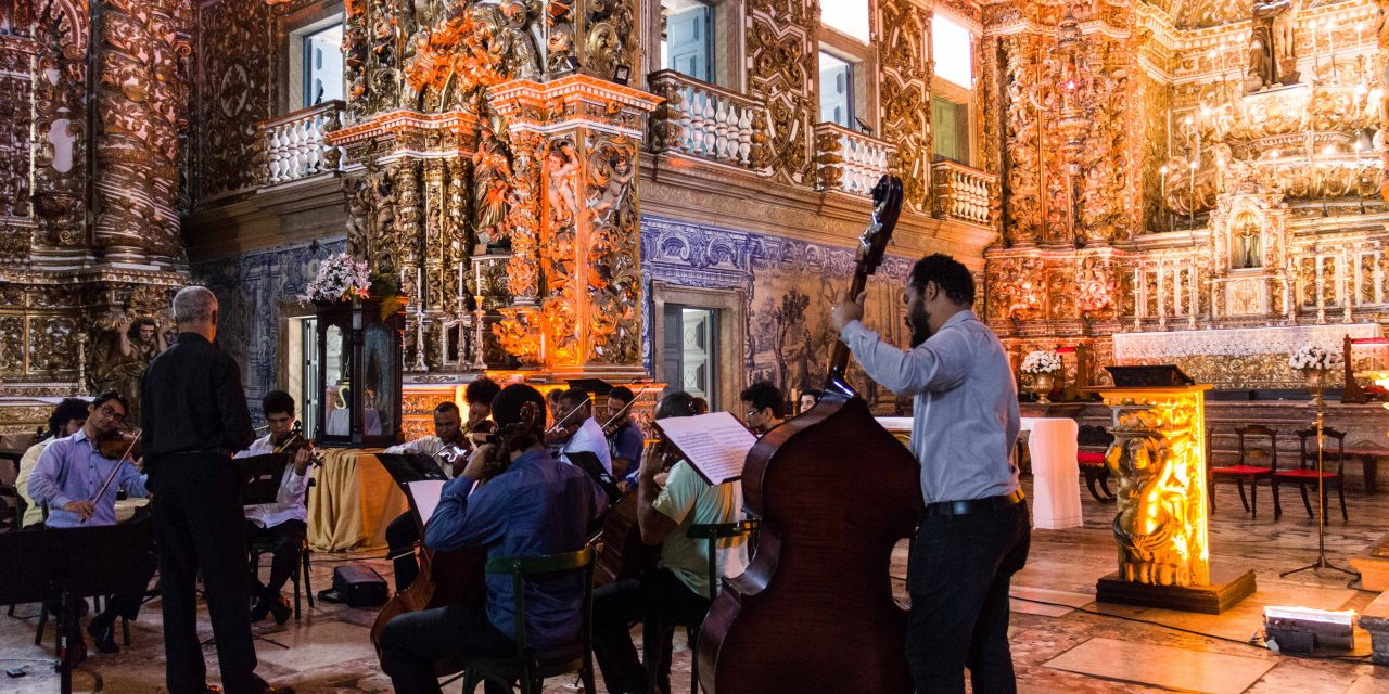 Orquestras nas igrejas do Centro Histórico no fim de semana