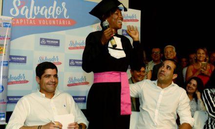 Projeto Salvador Capital Voluntária pretende atrair 10 mil participantes até 2020