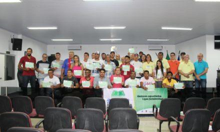 Itaberaba sedia Curso de Qualificação de Gestores de Ligas de Futebol