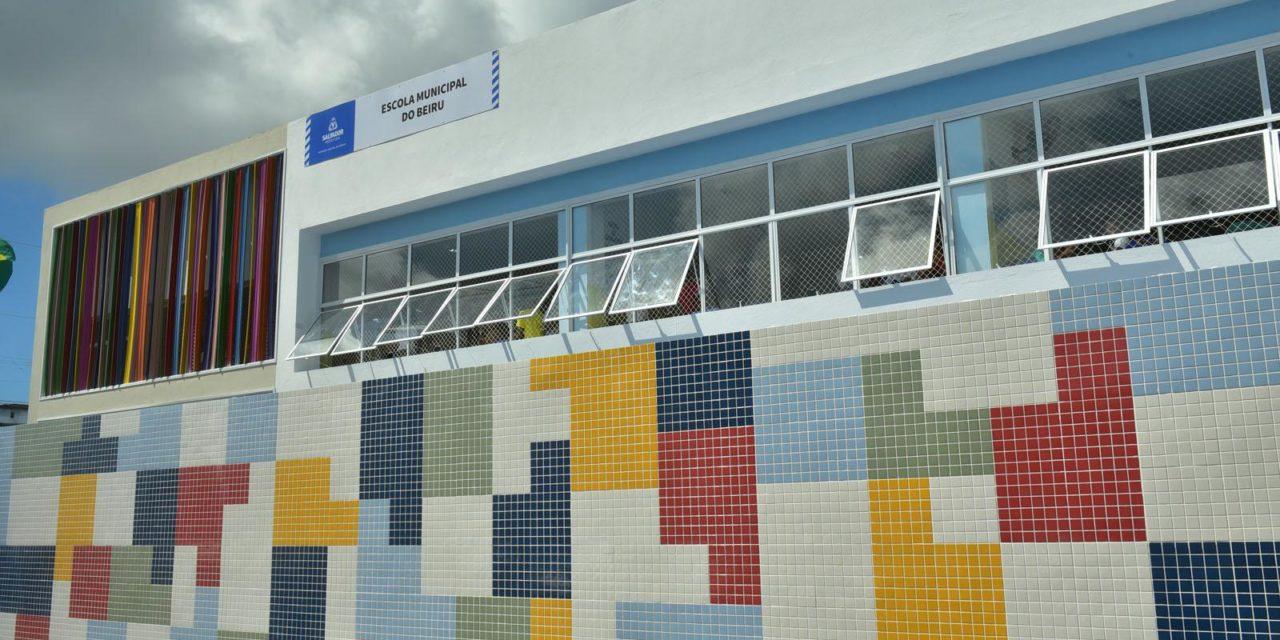 Nova Escola Municipal do Beiru é recebida com festa por moradores do Arenoso