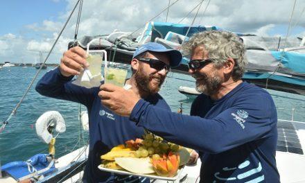 Velejadores de barco brasileiro prometem retorno na Transat Jacques Vabre 2019