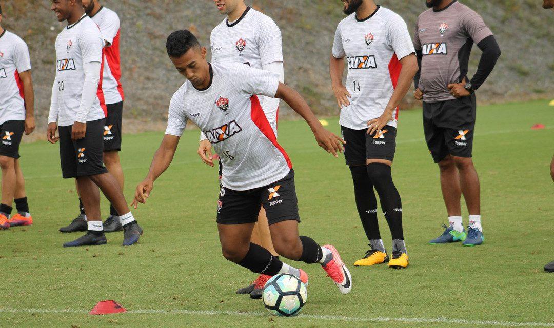 Mesmo sem Wallace, Geferson e Tréllez o Vitória vai confiante pro jogo com o Flamengo
