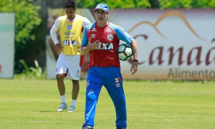 Bahia volta aos treinos de olho no jogo com a Chapecoense